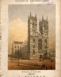 Sabbath Recreations - No. 5 - A Collection of Sacred Airs - For the Pianoforte depicting Westminster Abbey