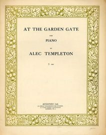 At the Garden Gate - For Piano