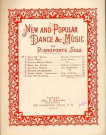 Off for the Holidays -  From 'New and Popular Dance & Music for Pianoforte Solo'