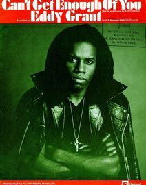 Can't get Enough of You - Featuring Eddy Grant