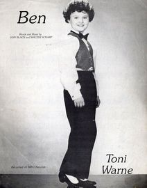 Ben - Recorded on Mint Records by Toni Warne