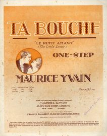 Ta Bouche (Le Petit Amant) - One Step for Pianoforte