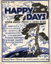 Happy Days - Seven Simple Pieces - Banks Gem Series No. 100