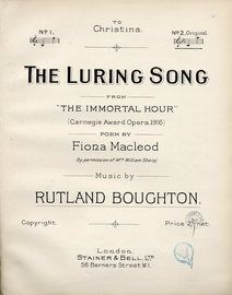 The Luring Song - From (
