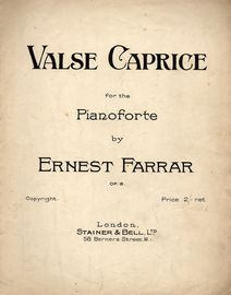 Valse Caprice - For Piano