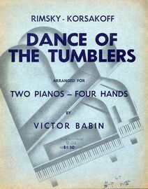 Dance of the Tumblers - Two Pianos, Four Hands - Boosey & Hawkes Two Piano Series Edition