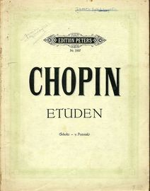 Chopin - Etuden - Edition Peters Nr. 1907