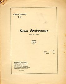 Deux Arabesques - No. 1 - For piano