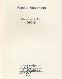 Recitative & Air (DSCH) - Piano Solo