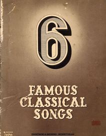 6 Famous Classical Songs - Lyche Norway Edition - Engstrom & Sodring - Musikforlag