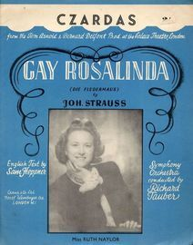 Czardas - From Gay Rosalinda (Die Fledermaus) - Featuring Miss Ruth Naylor