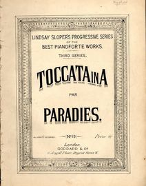 Toccata in A - Slopers Progressive Series of the Best Pianoforte Works - Third Series - No. 19