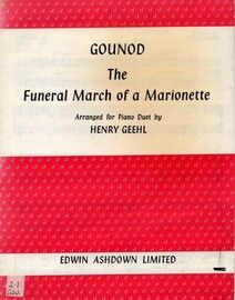 Gounod - The Funeral March of a Marionette - Piano Duet Arrangement