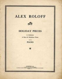 Holiday Pieces - A Collection of Short & Melodious Pieces - For Piano