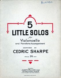 5 Little Solos for Violoncello and Pianoforte Accompaniment
