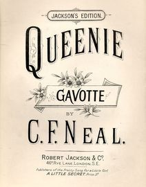 Queenie - Gavotte for Piano solo