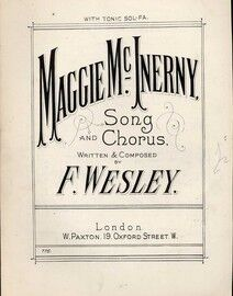 Maggie McInerny - Song and Chorus - With Tonic Sol Fa