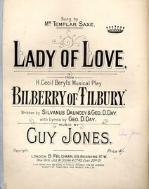 Lady of Love - From H. Cecil Beryl\'s musical play \