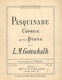 Pasquinade Caprice - For Piano - The Hanover Edition