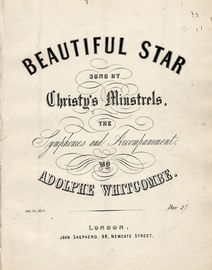 Beautiful Star - Sung by Christy\'s Minstrels