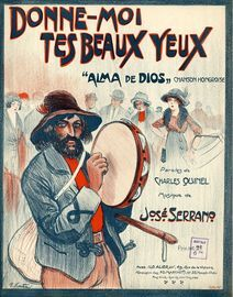 Donne-Moi tes beaux yeux (Alma de Dios) - For Piano and Voice - French Edition