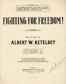 Fighting for Freedom - Song