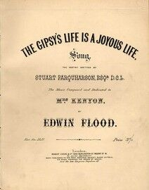 The Gipsy's Life is a Joyous Life - Song dedicated to Mrs. Kenyon