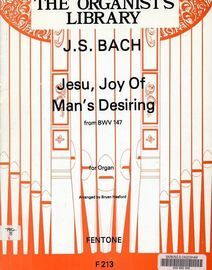 The Organists Library J S Bach