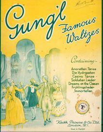 Gung'l Famous Waltzes for Pianoforte
