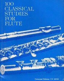 100 Classical Studies for Flute - Volume 1 - Universal Edition No. 12992