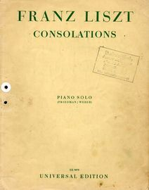 Consolations - Piano Works - New Edition - Piano Solo
