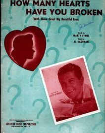 How Many Hearts Have You Broken - Featuring Eddy Howard