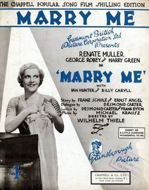 Marry Me - Song - Featuring Renate Muller in 'Marry Me'
