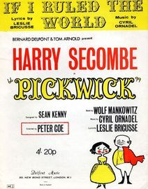 If I Ruled the World - As performed by Harry Secombe in