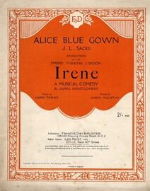 Alice Blue Gown - from the musical comedy 'Irene'