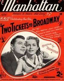 Manhattan - Featuring Tony Martin & Janet Leigh in