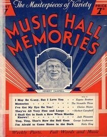 The Masterpeices of Variety, Music Hall Memories, Part 7 - Herbert Campbell