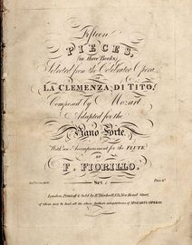 Fifteen Pieces (in three Books) selected from the Celebrated Opera of