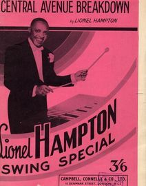 Central Avenue Breakdown - Lionel Hampton Swing Special - For Dance Band
