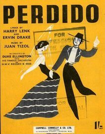 Perdido (Lost) - America's No. 1 Jive Hit - As Created by Duke Ellington and his Famous Orchestra on H.M.V. Record B. 9305