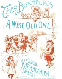 A Wise Old Owl - Musical Kindergarten Sketch
