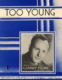 Too Young  -  Featuring Jimmy Young