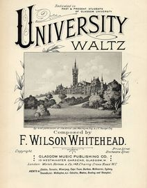 University Waltz - Dedicated to Past and Present Students of Glasgow University