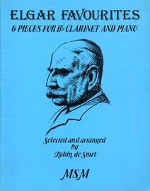 Elgar Favourites - 6 Pieces for B flat Clarinet & Piano