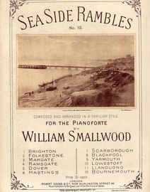 Bournemouth - Seaside Rambles Series No. 12 - Composed and arranged in a familiar style for the Pianoforte