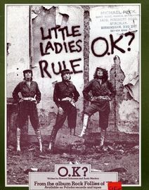O K. Little Ladies Rule