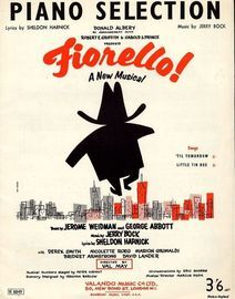 Copy of Fiorello - Piano Selection from the Musical Play \