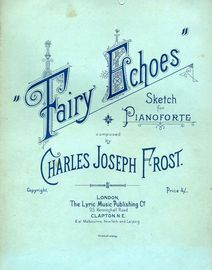 Fairy Echoes - Sketch for Pianoforte