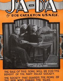 Ja Da - The Ja Da Trio - Carleton, Sobol and Rosenberg