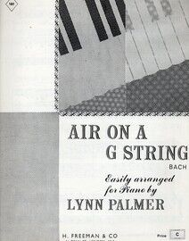 Bach - Air on a G String for piano